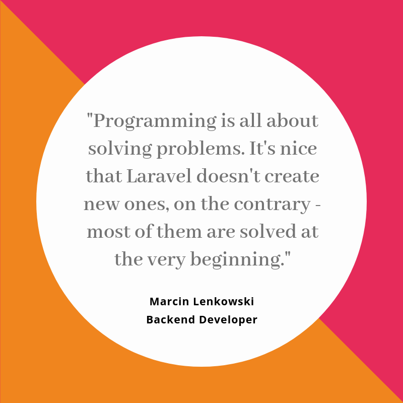 Laravel Quote