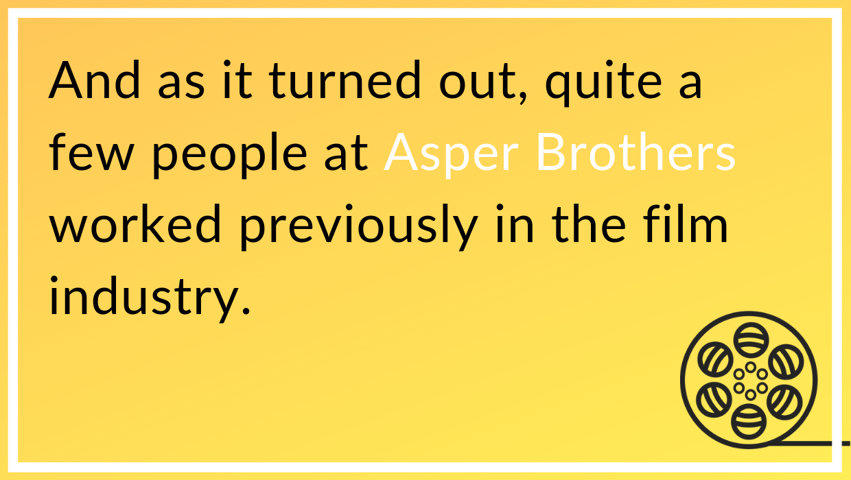 Asper Brothers dream job